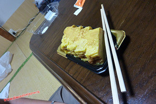 P1060794 Cenando en el Ryokan Kashima Honkan (Fukuoka) 14-07-2010