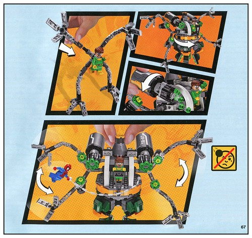 LEGO Marvel Super Heroes 76059 Spider-Man Doc Ock's Tentacle Trap 05
