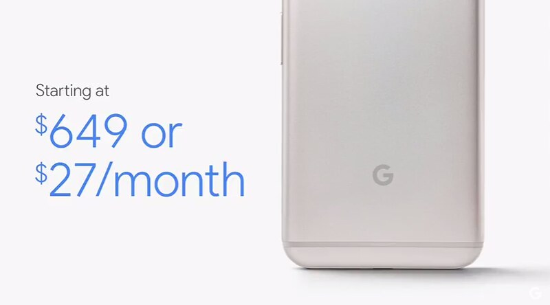 Цена Google Pixel и Pixel XL