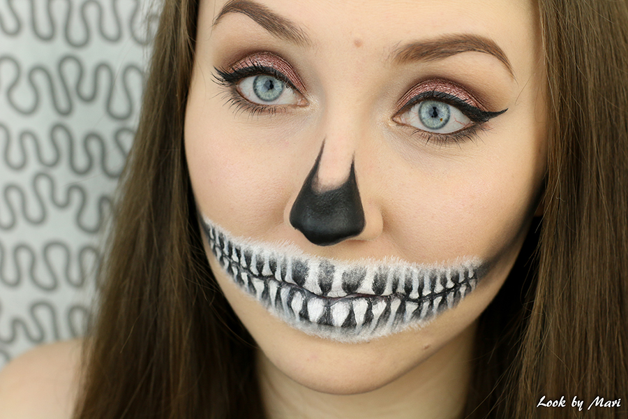 9 skull makeup ideas inspiration black and white