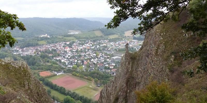 Blick vom Rotenfels