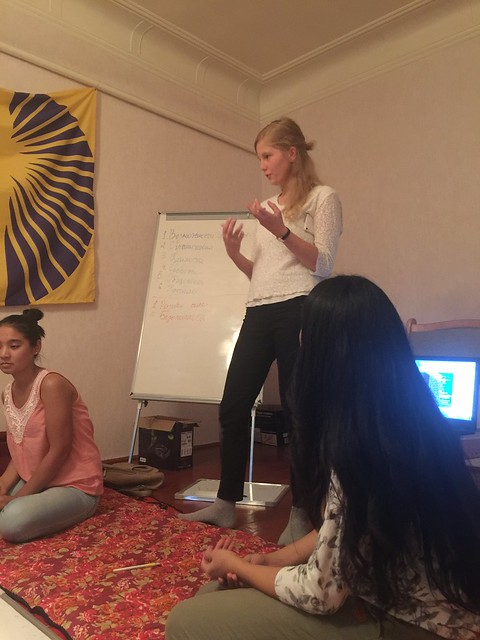 Self-Development Group for Girls at NR - Training no 2