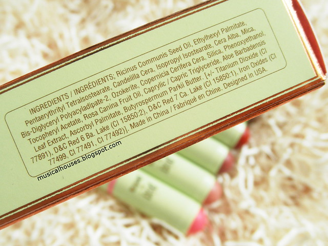 Pixi Multibalms Review Ingredients