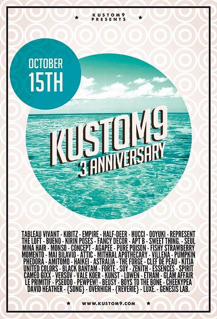 Kustom9 Anniversary