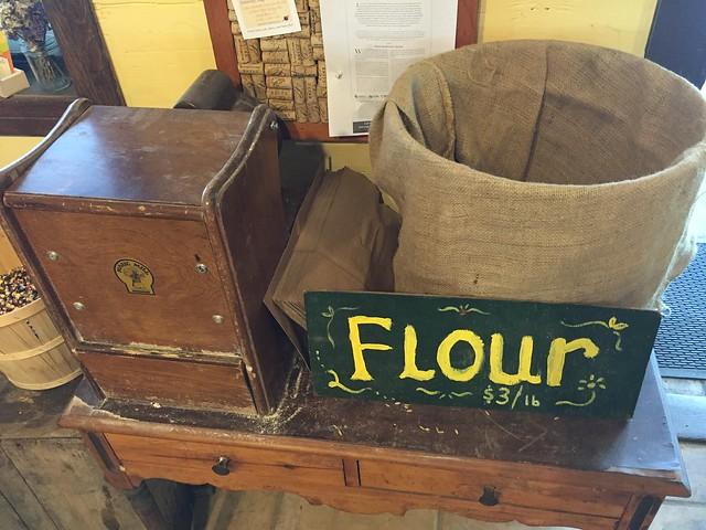 Self-milling Flour
