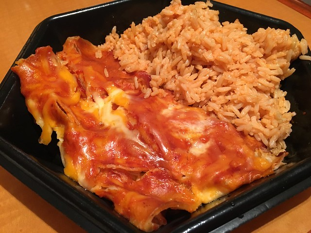 Chicken cheese enchiladas - The Corner Deli