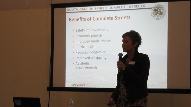 South Carson Street Complete Streets