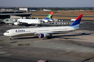 Delta Air Lines | Boeing 767-400ER | N840MH | Johannesburg International | by Dennis HKG
