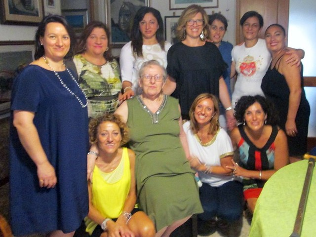 con la maestra anna romano fasano 43 anni dopo