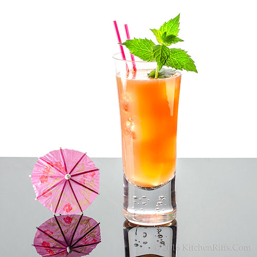 Paradise Cooler Cocktail