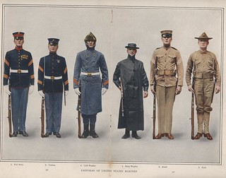 Marine Corps Uniforms, 1912 | by Marine Corps Archives & Special Collections