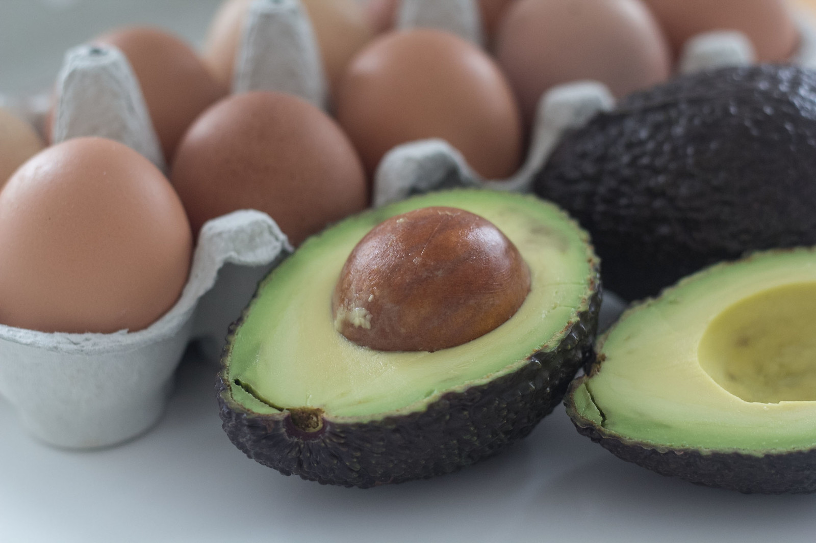 Recipe for Homemade Avocado Baked Egg