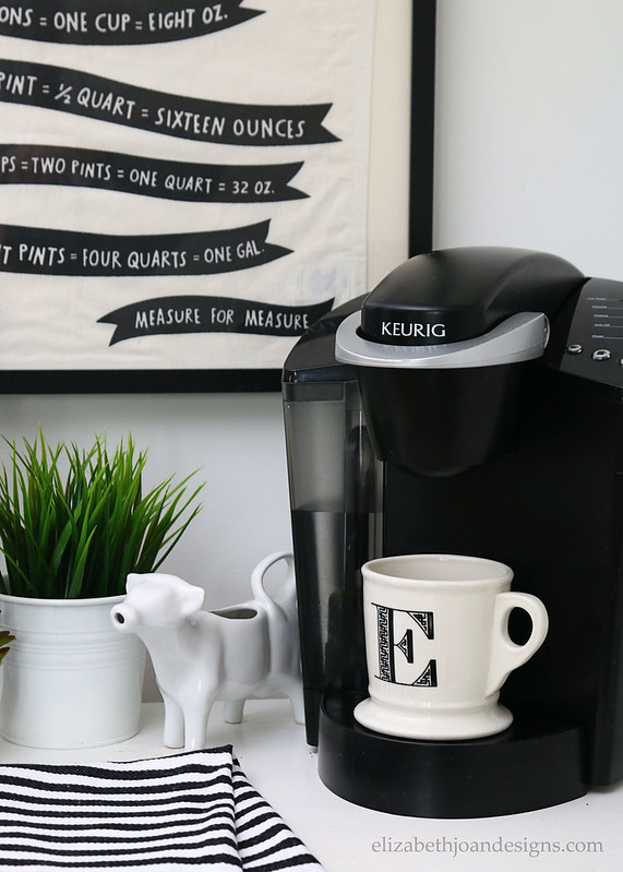 Keurig Black White
