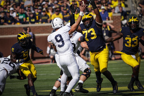 Michigan vs. Penn State (Eric Upchurch)