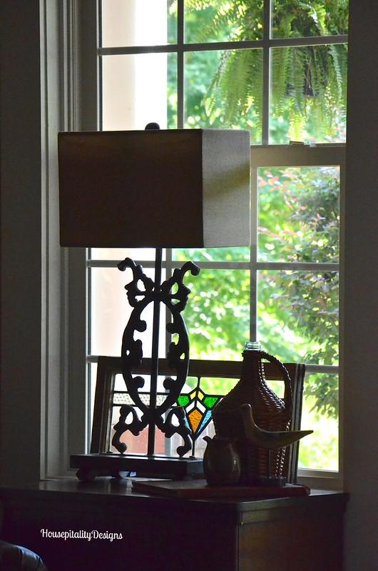 Media Room Iron Lamp - Housepitality Designs