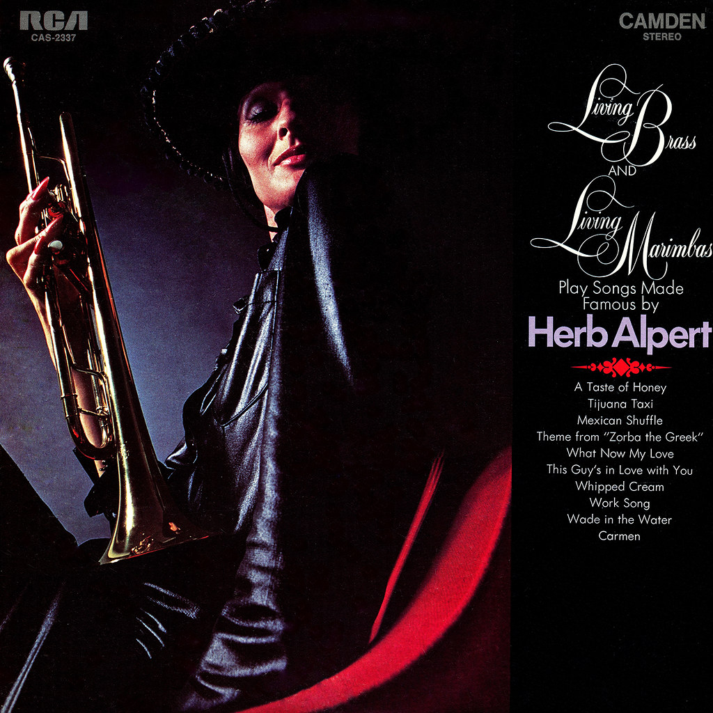 Living Brass, Living Marimbas ‎– Play Songs Made Famous By Herb Alpert