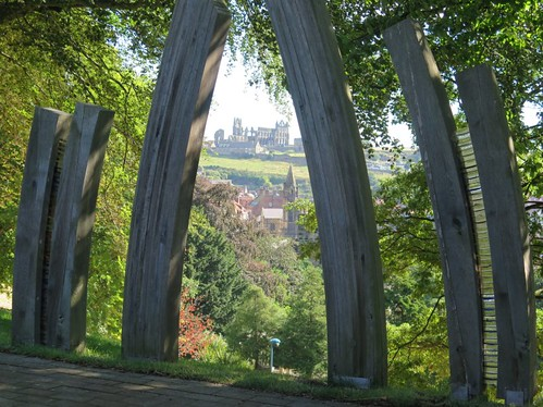 The Abbey from Pannett Park
