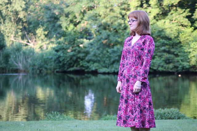 Butterick B5030 Wrap Dress