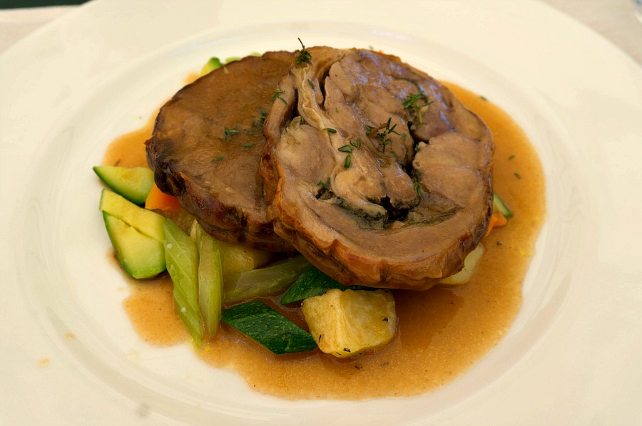 Slow Roasted Lamb from the Estate's Osteria