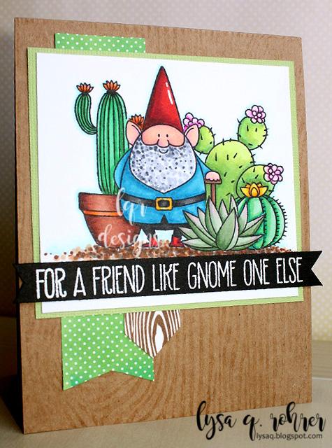 Succulent Garden Gnome