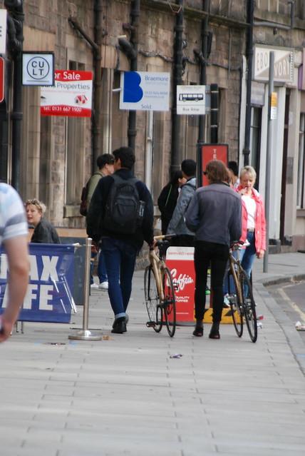 Spot the bamboo bike