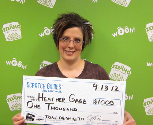 Heather Gage - $1,000 Triple Dynamite 7's | by Idaho Lottery
