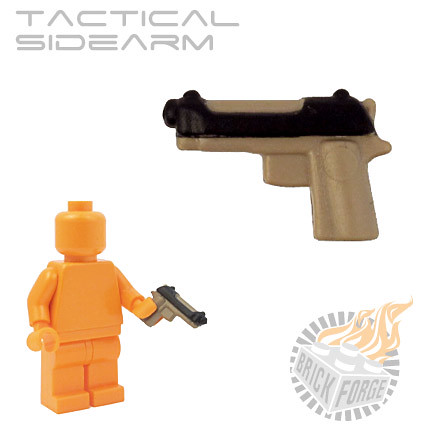 Tactical Sidearm - Dark Tan | by BrickForge