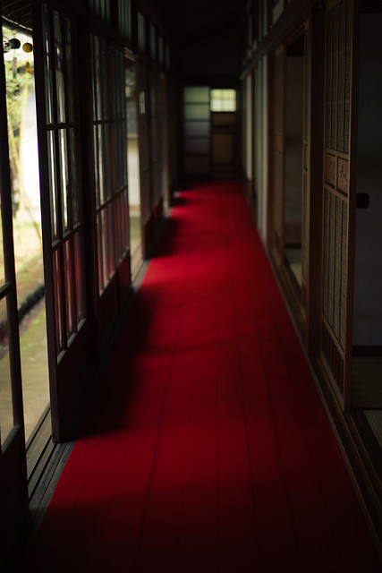西川家別邸・外廊下
