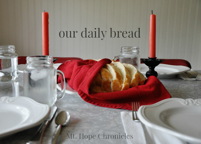 Our Daily Bread @ Mt. Hope Chronicles
