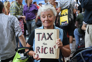 Tax the rich at Occupy Wall Street | by WarmSleepy