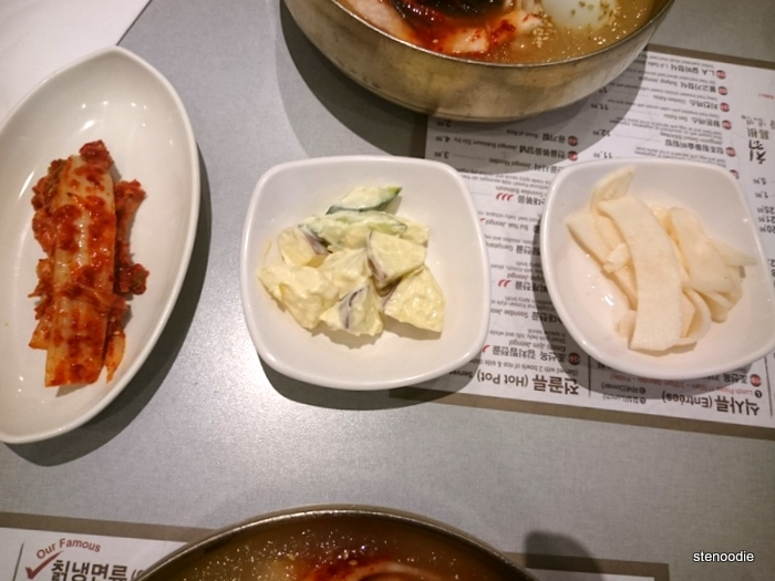 Banchan at Cho Sun Ok