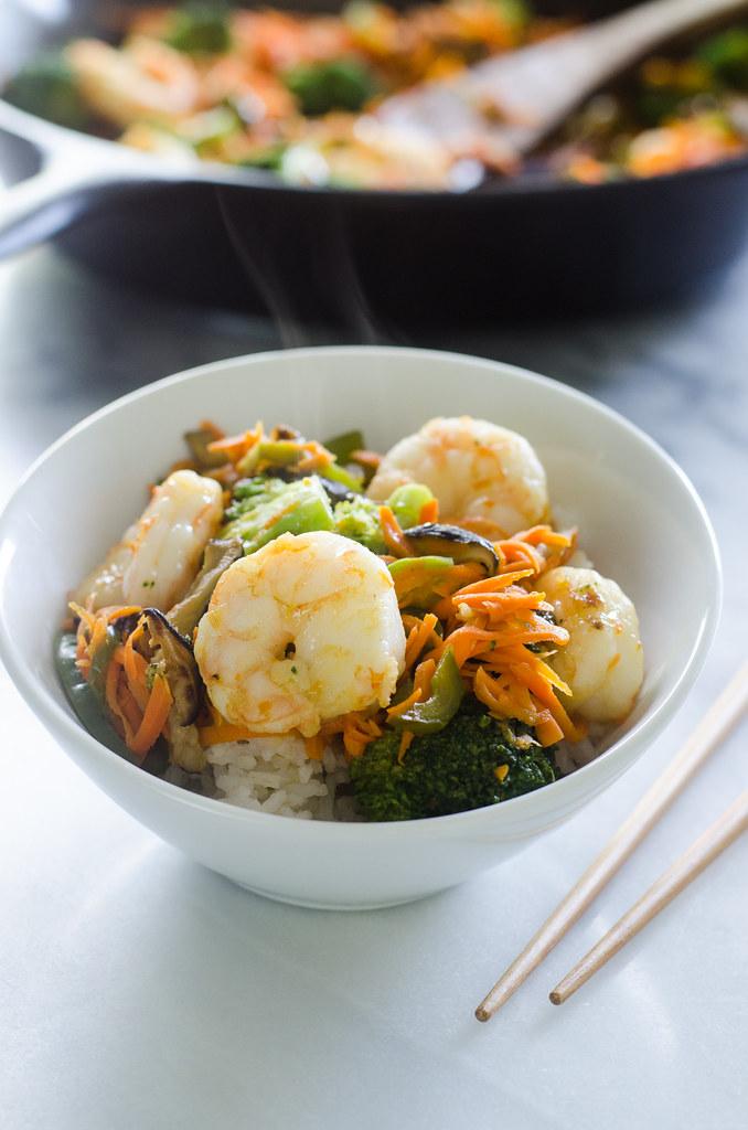 30 Minute Shrimp Stir-Fry