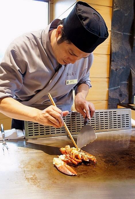 台北鐵板燒日本料理香格里拉遠東22