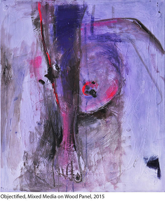 objectified IV_Mixed media on canvas