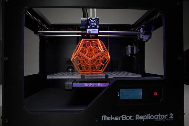 Makerbot Industries - Replicator 2 - 3D-printer 09