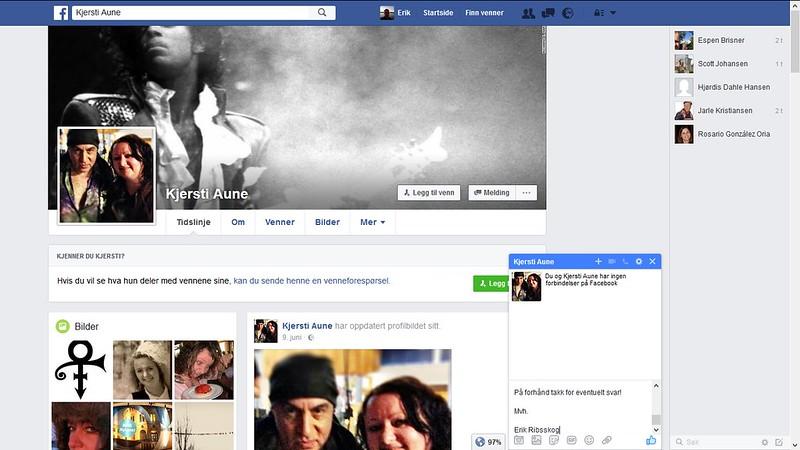 facebook kjersti aune