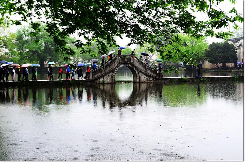宏村南湖拱橋
