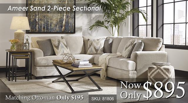 Ameer 2 Piece Sectional