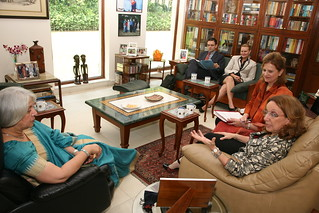 Rebeca Grynspan Meets Isher Judge Ahluwalia, Chairperson, ICRIER | by UNDP in India