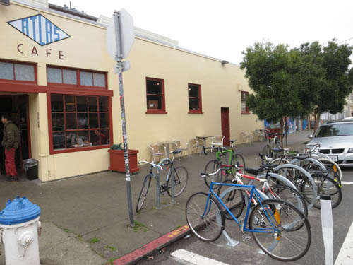 Atlas Cafe Bike Corral | by sfbike