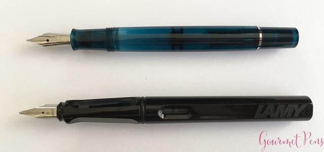 Review Pelikan Classic M205 Aquamarine Fountain Pen Review @AppelboomLaren 6