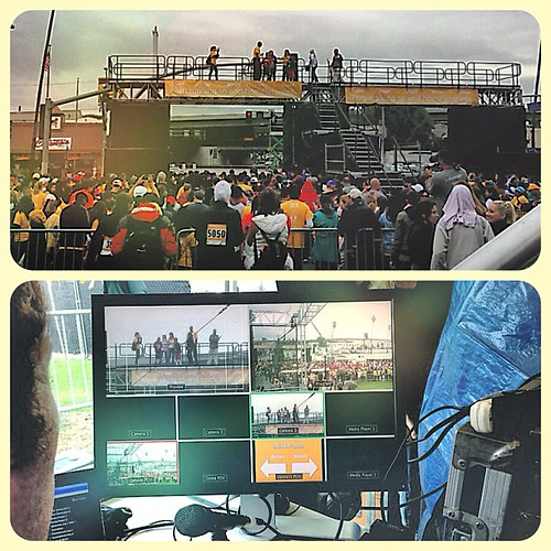@danportnoy & the PMG crew capturing the live multicam event #homewalk @launitedway (yesterday) | by UnitedWayLA