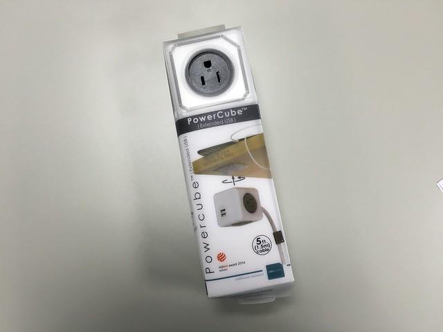 包裝看起來解析度有點不太高XD 小小一盒但是滿沉重的@PowerCube USB延長線