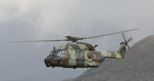 Vuelo del HT-29 rumbo a la base de Agoncillo (12)