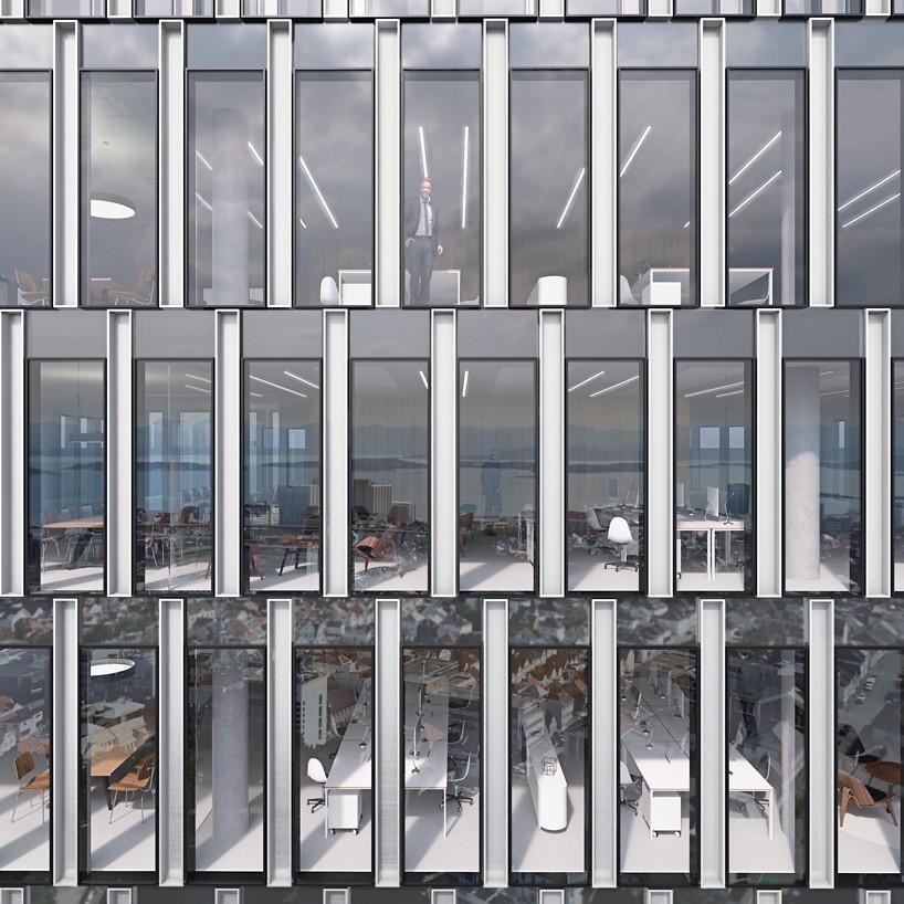 101-метровая башня в Норвегии. Проект Schmidt Hammer Lassen