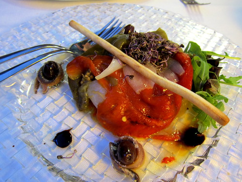 Escalivada with Anchovies