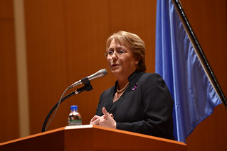 UN Women Executive Director Michelle Bachelet attends a symposium sponsored by Japan Liaison Conference for the Promotion of Gender Equality | by UN Women Gallery