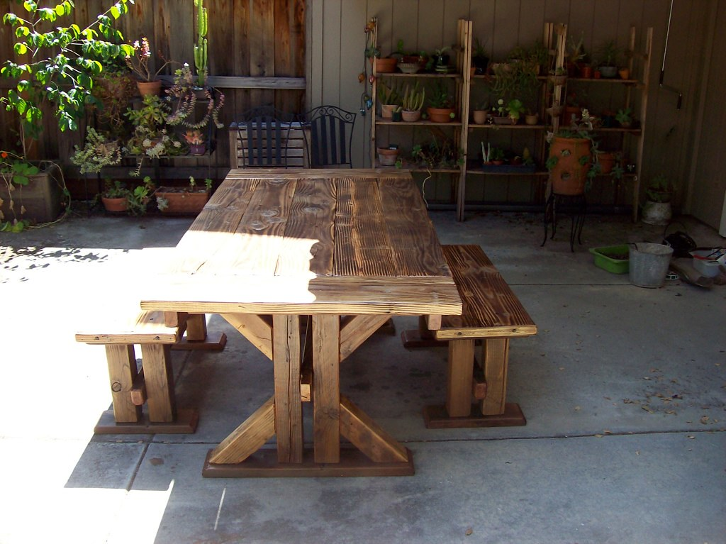 Dining tables flickr Reclaimed wood furniture colorado