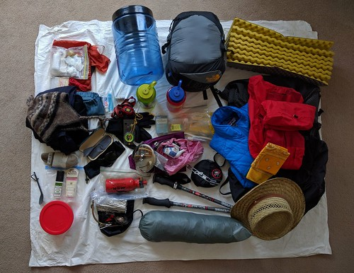 Ultralight Backpacking Gearlist
