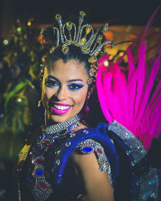 Andressa Lamba, the first Drum Corps Queen in Florida.  Brazilian Beat 2016 in Boca Raton